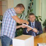 Peter Pellegrini na výjazdovej návšteve firmy v Sabinove