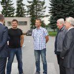 výjazd vlády do firmy v Sabinove