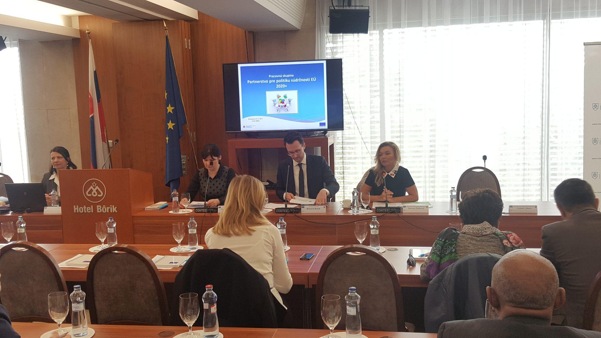 ÚPPVII odštartoval spoluprácu s partnermi, s ktorými nastaví budúcnosť kohéznej politiky