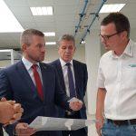 Peter Pellegrini na návšteve závodu spoločnosti Mühlbauer Technologies v Nitre