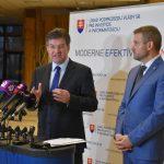 Maroš Šefčovič a Peter Pellegrini