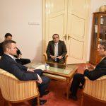 stretnutie s veľvyslancami Slovinska a Egypta