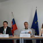 Patrik Krauspe, Richard Raši a Martina Slabejová