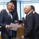 Richard Raši na rokovaní Rady EÚ