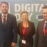 Martina Slabejová na Digital Day II vBruseli