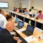zasadnutie v súvislosti so schválením projektov