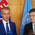 Richard Raši a Miroslav Lajčák