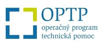 OPTP - Operačný program technická pomoc