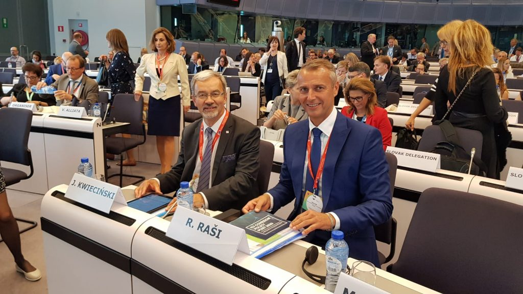 Rasi at the Brussels Conference: We will Guarantee Proper Drawing of the Euro-Funds