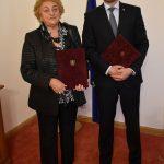 Viera Cibáková a Peter Pellegrini
