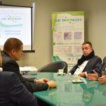 Peter Pellegrini na navšteve košickej spoločnosti DB Biotech