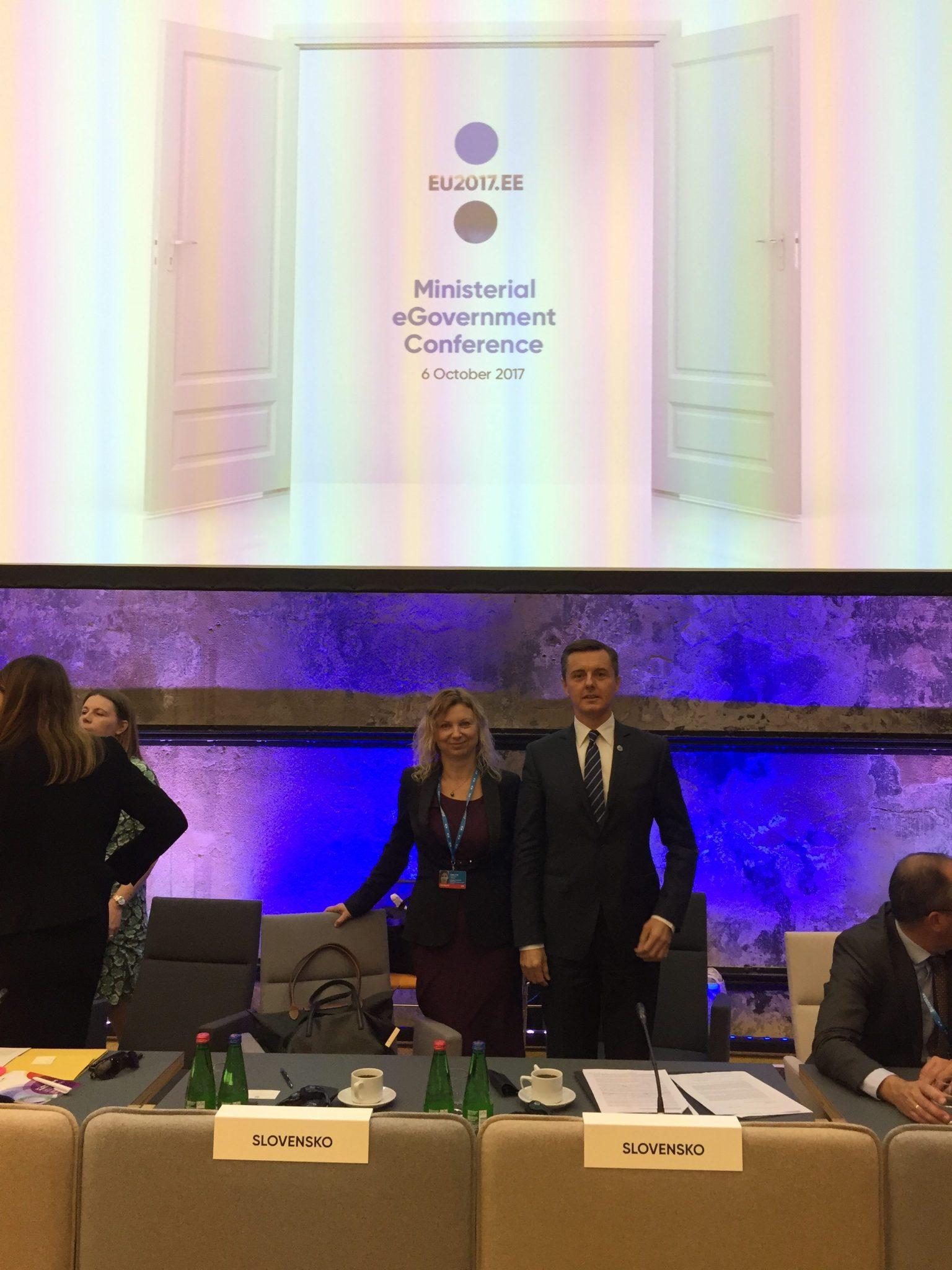 Podpisom Tallinnskej deklarácie sa približujeme k digitálnej Európe