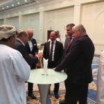 Slovenská delegácia na pracovnej ceste v Ománe