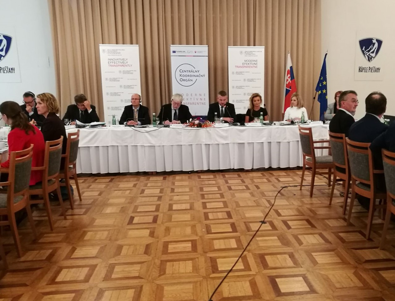 Národný monitorovací výbor eurofondov rokuje v Piešťanoch