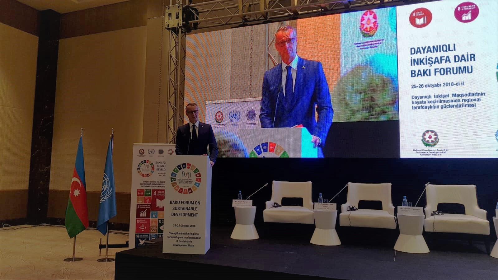 Raši v Azerbajdžane: Silné partnerstvá medzi krajinami sú pre trvalo udržateľný rozvoj kľúčové