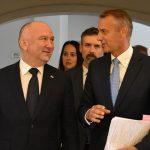Richard Raši na pracovnej návšteve Srbska