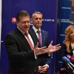 Maroš Šefčovič a Richard Raši