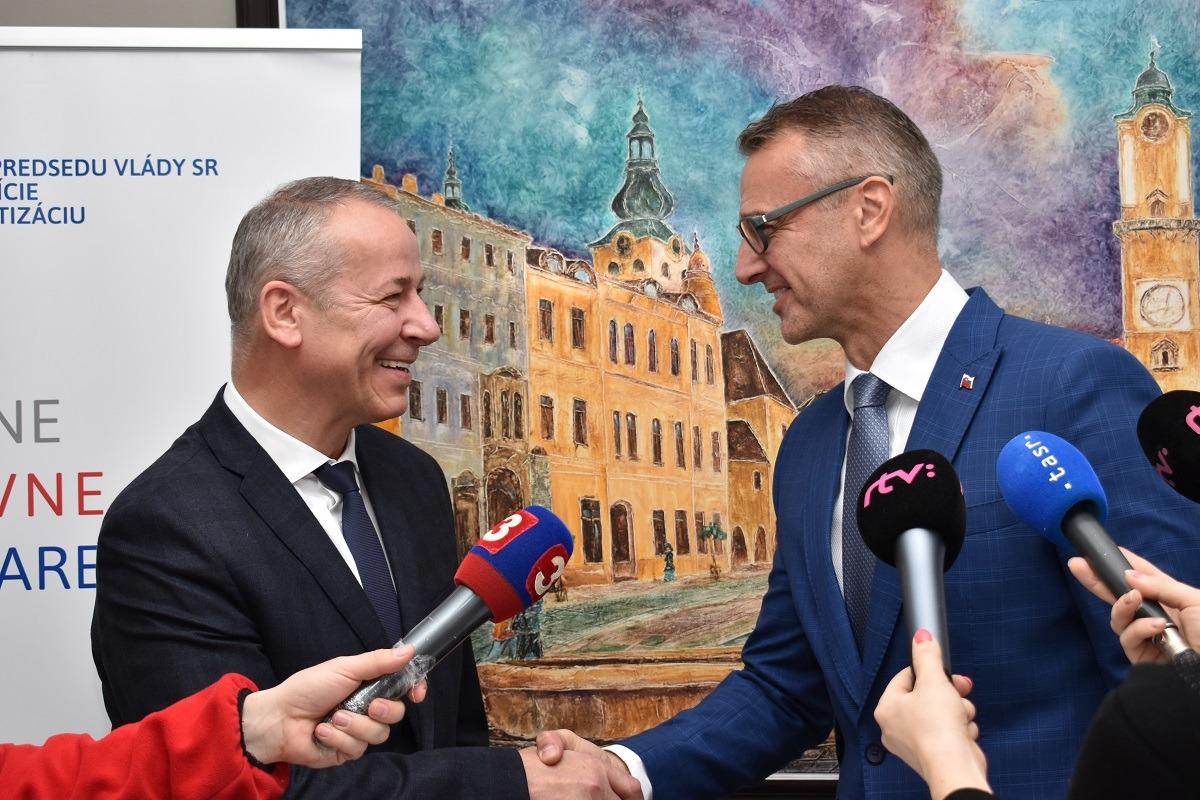 Úrad vicepremiéra pomôže Banskobystrickému kraju rozvíjať sa
