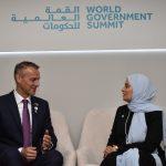 Richard Raši a Mansourom bin Zayed Al Nahyanom na spoločnom stretnutí