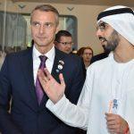 Richard Raši a Omar bin Sultan Al Olam na spoločnom stretnutí