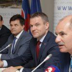 Dušan Chrenek, Peter Plavčan, Peter Pellegrini a Mário Lelovský