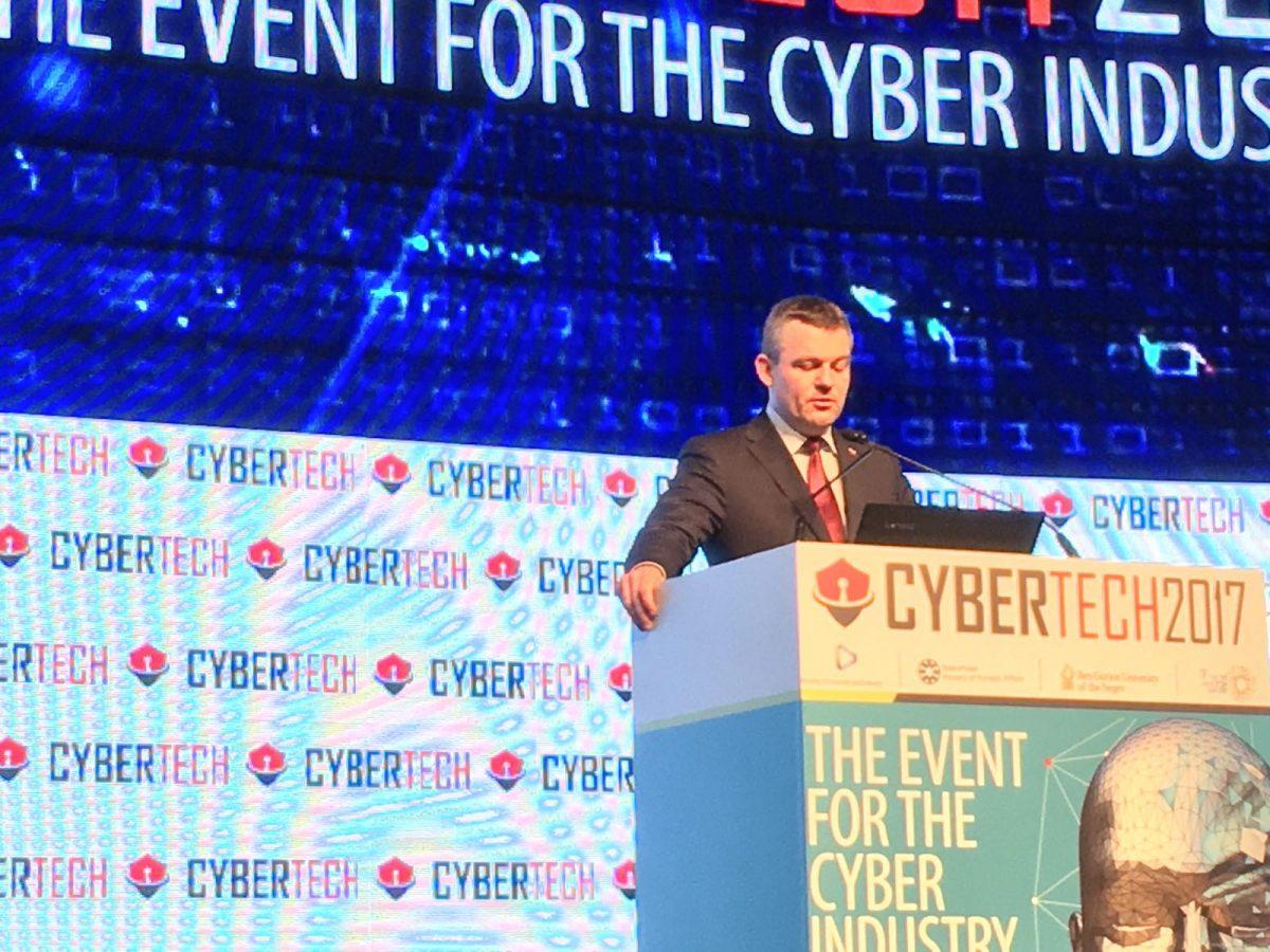Vystúpenie podpredsedu vlády SR na svetovej konferencii CyberTech 2017