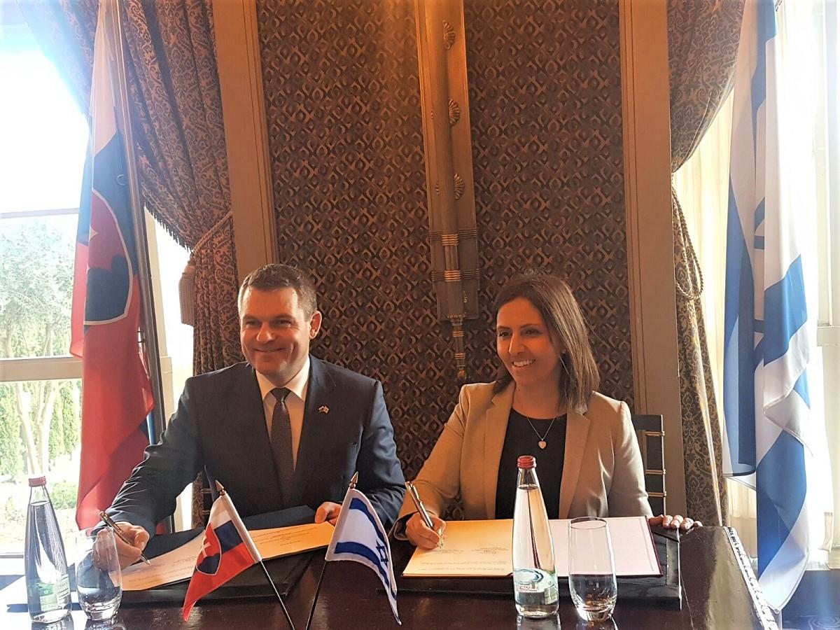Podpísanie Spoločnej deklarácie o podpore digitalizácie verejného sektora medzi Izraelom a Slovenskom