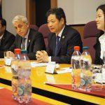 rokovanie s delegáciou Medzinárodnej obchodnej komory Hodvábnej cesty