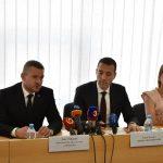 Peter Pellegrini, Tomáš Drucker a Beatrix Bárány