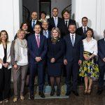zasadnutie členov vlád a ministrov krajín V4