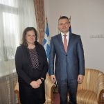 Maria Louisa Marinakis a Peter Pellegrini