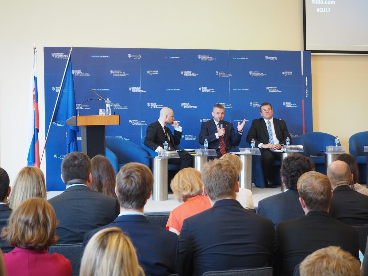 Slovensko má dobré predpoklady byť v európskom jadre