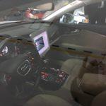 interiér autonómneho vozidla
