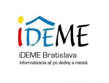 iDEME Bratislava. Informatizácia až po dediny a mestá.