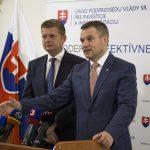 Peter Žiga a Peter Pellegrini