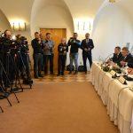 tlačová konferencia na výjazdovom rokovaní vlády v Bardejove