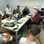 Zasadnutie v rámci akcie Hackathon