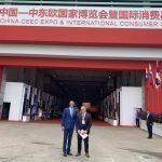 Richard Raši na veľtrhu China CEEC-Investment & Trade EXPO