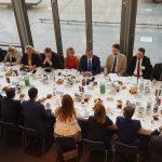 Richard Raši na diskusii v Luxemburgu
