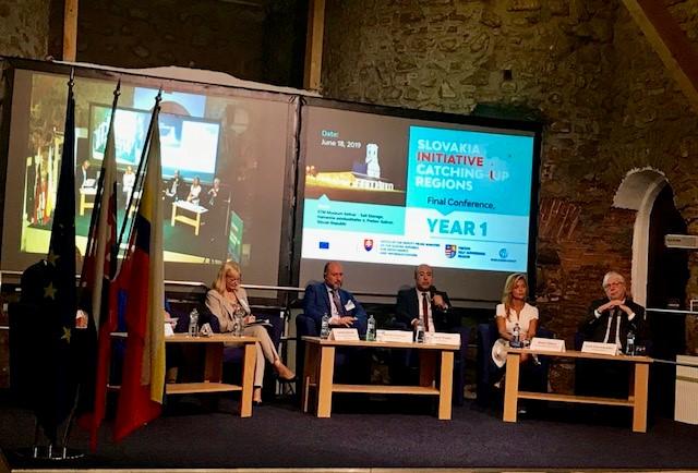 Iniciatíva Európskej komisie Catching-up Regions v Prešovskom kraji slávnostne ukončila prvú fázu