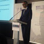 Richard Raši na medzinárodnej konferencii OBSE