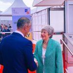Richard Raši a Theresa May