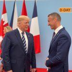 Donald Trump a Richard Raši