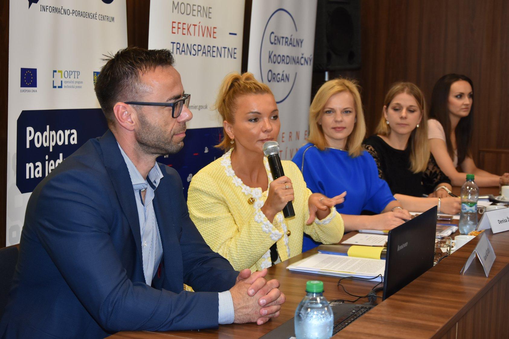 O info dni k priamo riadeným programom EÚ bol veľký záujem, prišlo takmer 250 záujemcov