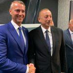 Richard Raši na stretnutí v Baku