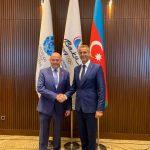 Richard Raši na návšteve v Baku
