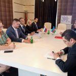 Richard Raši na pracovnej návšteve v Baku