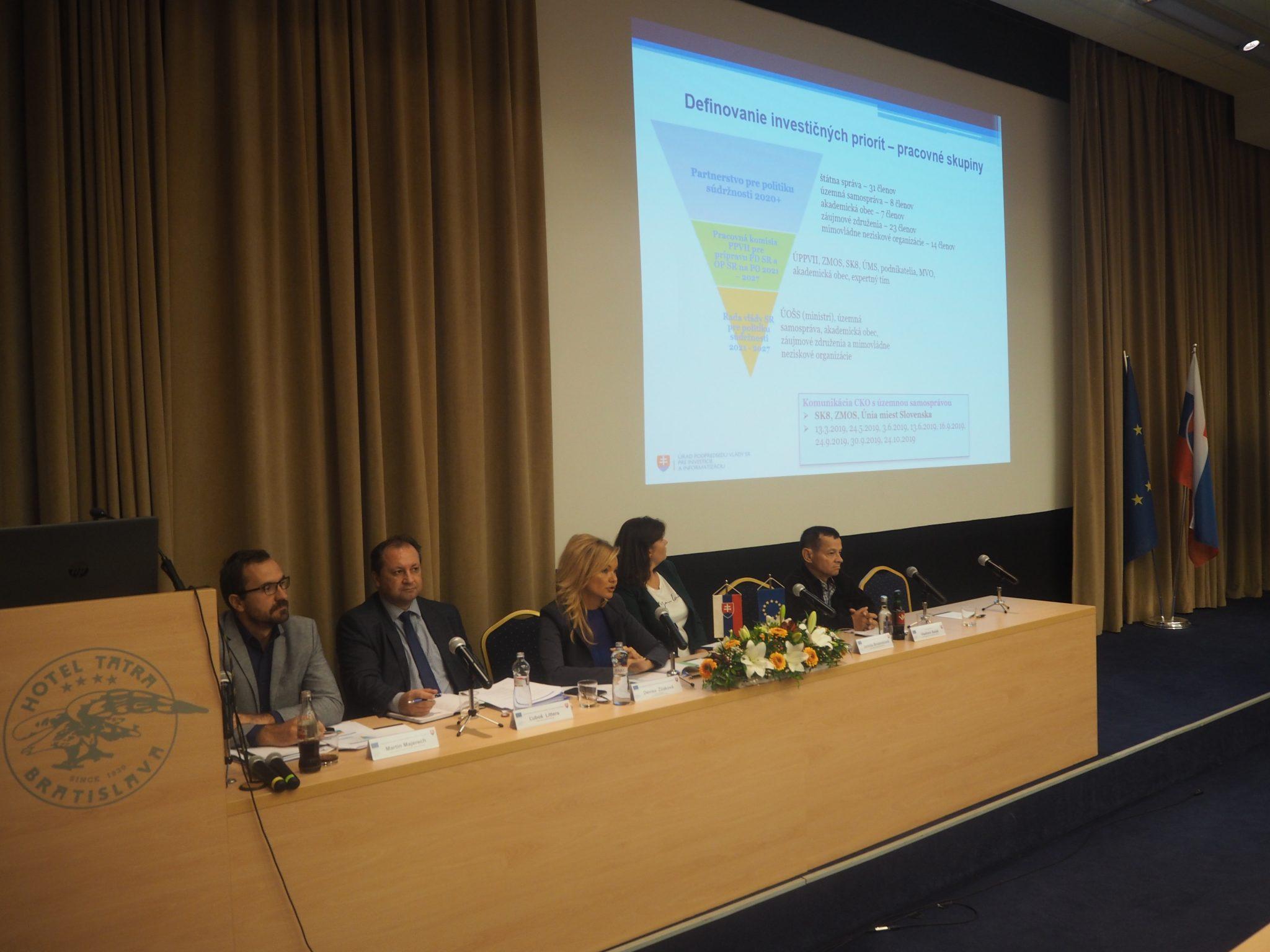 Pracovná skupina pre eurofondovú politiku diskutovala o finančných prioritách Slovenska