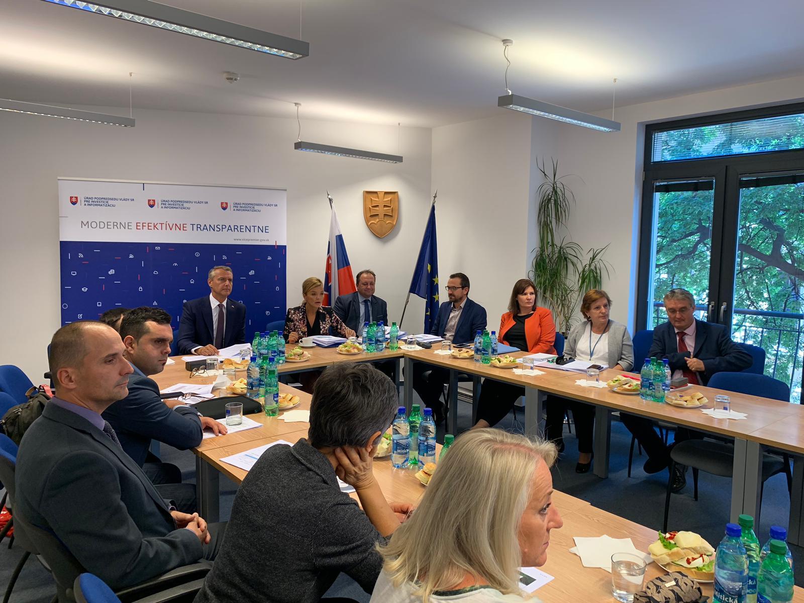 Pracovná skupina pre budúce eurofondy sa zaoberala investičnými prioritami Slovenska