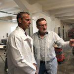 Richard Raši na návšteve lokálne pekárne v Strážskom